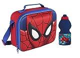 IRPot-Lot thermique Spiderman Sandwich + Gourde Kit d'Asile Homme Araignée...