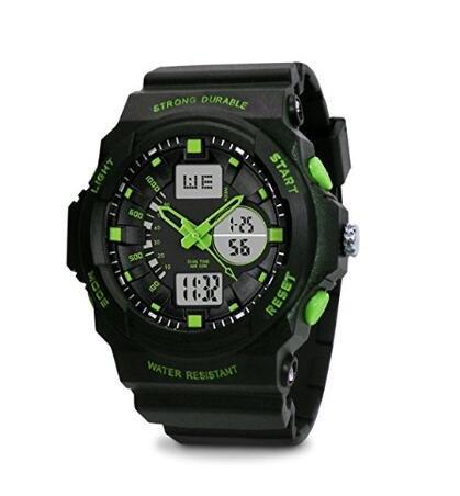 TOPCABIN-Swim-Watch-Digital-analog-Boys-Girls-Sport-Digital-Watch-with-Alarm-Stopwatch-Chronograph-50m-Water-Proof-Wristwatch