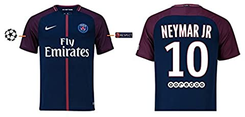 Trikot Herren Paris Saint-Germain 2017-2018 Home UCL - Neymar Jr 10 (S)