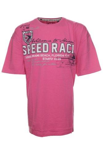 Exklusives T-Shirt von Kitaro --- Miami Speed Boad Cup -- Rosa