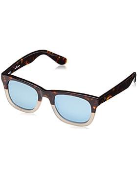 Wolfnoir, KIARA JK QUINTESSENTIAL - Gafas De Sol unisex multicolor (carey marrón/blanco/azul degradado), talla...