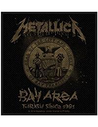 Metallica parche–Bay Area Thrash–Metallica Patch–tejida & licencia oficial..