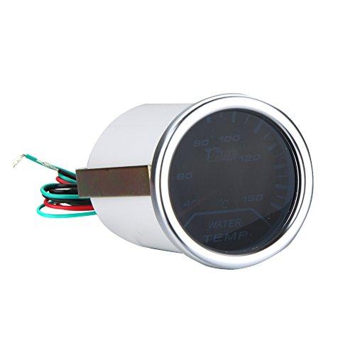 """Preisvergleich Produktbild KKmoon 2"""" 52mm Weiß LED Wasser Temp Messgerät Wasser Temperatur Messgerät Sensor"""