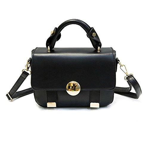 Borsa Moda YCMDM nuove donne di borsa a tracolla piccola borsa , (Bianco Bagagli Petto)