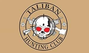 Taliban Hunting Club Flag. 5ft X 3ft.