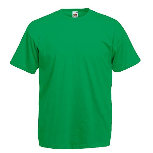 Fruit of the Loom - Classic T-Shirt 'Value Weight' S,Kelly Green (Green Kelly)