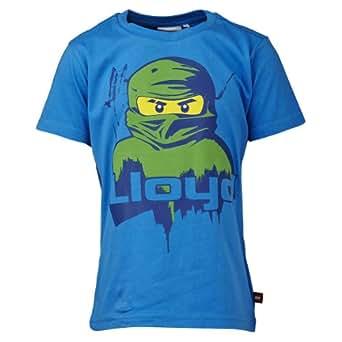 Lego wear - ninjago lloyd - t-shirt - garçon - bleu (blue) - 4 ans