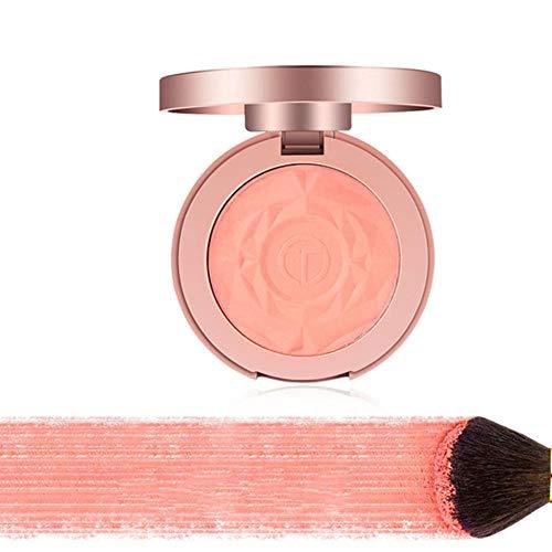 Semme Poudre Blush, Palette de Maquillage cosmétique Blusher Mat Visage(#04)