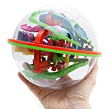 Goods & Gadgets 3D Kugellabyrinth Kugelspiel Magic Maze Kugel-Labyrinth Puzzle Ball Geschicklichkeitsspiel 20cm XXL -