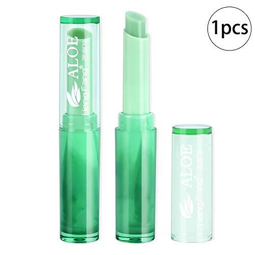 1PC Lápiz labial orgánico Lápiz labial gelatina