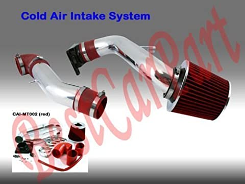 99 00 01 02 03 Mitsubishi Galant 2.4 L4 / 3.0 V6 Cold Air Intake + Red Filter CMT2R by Click 2 Go