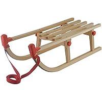 AlpenGaudi Kinder Holzklappschlitten, Holz, 80 cm, 10993460