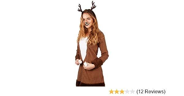 Reh Kleid Rehkitz Exklusiv Rehkostum Kostum Damen Tier Fasching Neu