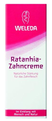 Weleda Ratanhia-Zahncreme, 75 ml