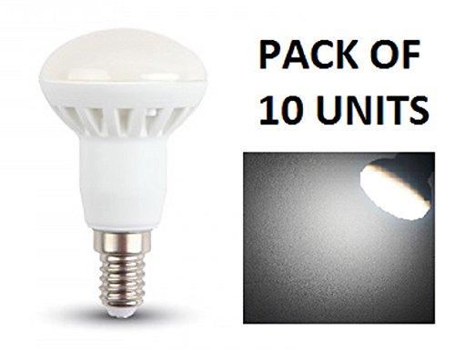 3 Sockel-typ (LED R39Reflektor Leuchtmittel-10Stück-E14Sockel Typ-3W/120Grad Beam/210Ln-Kühles Weiß 6000K-nicht dimmbar/230V/20000Stunden Lebensdauer)