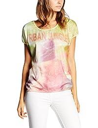 Vero Moda Vmbeach Jungle Wide Ss Top Dnm, T-Shirt Femme