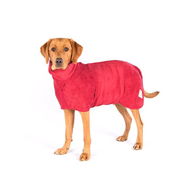 Ruff and Tumble Dog Drying Coat - Classic Collection 1