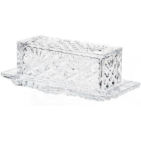 Godinger Silver Crystal-Porta burro, motivo: Ananas