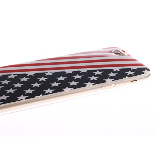 "MOONCASE iPhone 6 Case Coque Housse Silicone Etui Case Soft Gel TPU Cover pour iPhone 6 (4.7"") -TX13 ST11"