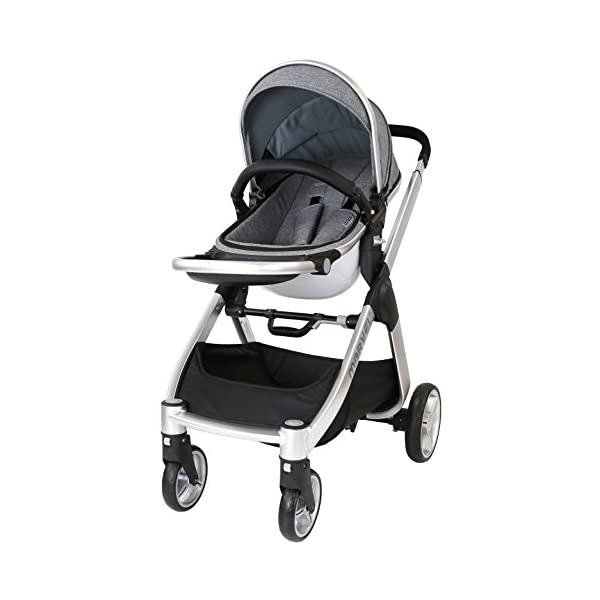Marvel 2in1 Pram - Dove Grey (+ x2 Footmuff + x1 Car Seat Raincover) iSafe Includes Free Carseat Raincover + Carseat Footmuff + Stroller Footmuff Complete With Free Raincover For Seat Unit Complete With Free Boot Cover 5