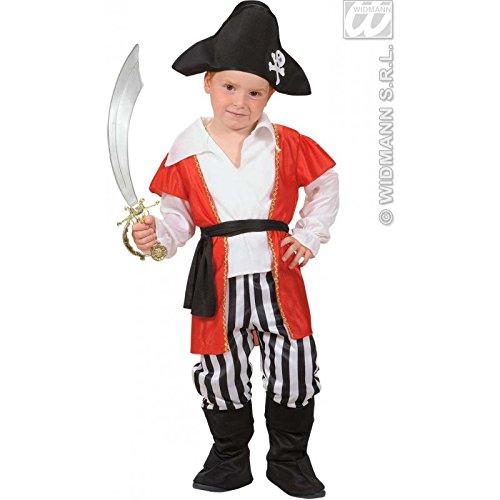Imagen de disfraz de pirata para niño  de 2 a 3 años