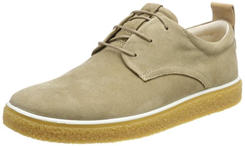 Herren Brown Schuhe Ecco (Ecco Herren Crepetray Brogues, Braun (Navajo Brown/Powder), 42 EU)