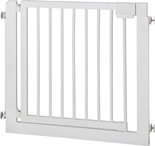 IB-Style – Treppengitter / Türgitter KOLBY M | 3 Größen |86 – 92 cm | aus massivem Holz – Weiß - 4