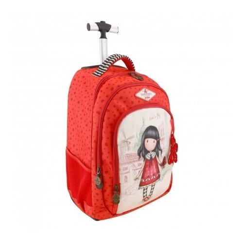 Mochila Escolar Trolley Gorjuss - Time to Fly