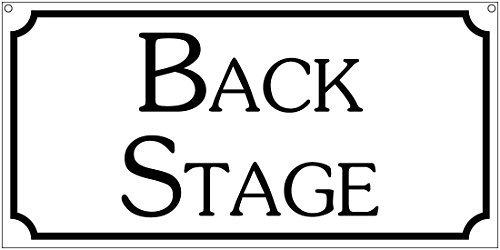 PeteGray Back Stage Gemeinschaft Play Theater Kostüm Bar Aluminium Schild Metall Schilder Metall blechschild Wandschild 12x 6Weihnachts Geburtstag - Gemeinschaft Kostüm