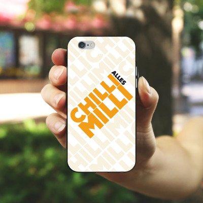 Apple iPhone X Silikon Hülle Case Schutzhülle LPmitKev Fanartikel Merchandise Alles Chilli Milli Weiss Silikon Case schwarz / weiß