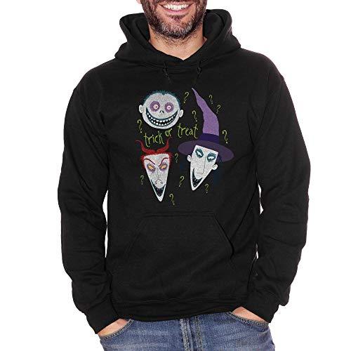 Sweatshirt Halloween Trick Or Treat Nightmare Before - Film Choose ur Color - Damen-S-Schwarz (Netflix Von Halloween-filme)