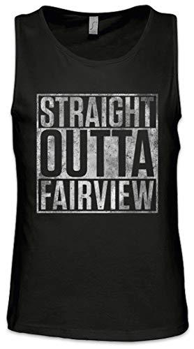 Gabrielle Tank (Straight Outta Fairview Herren Männer Tank Top Training Shirt Größen S - 5XL)