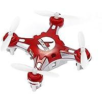 GoolRC FQ777-124 Explorers quadricottero Pocket Quadcopter Micro Drone 4CH 6Axis Gyro commutabile controller CF Modalità Uno tasto per tornare 3D rotolo MAV RTF ROSSO