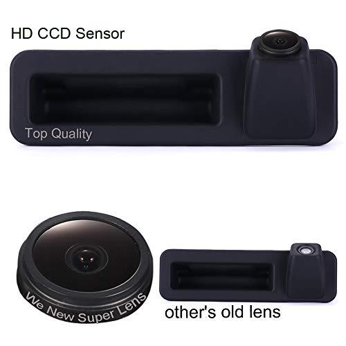 Maniglia del tronco Fotocamera per retromarcia auto per manubrio 1000TV Linee per HD Lens impermeabile Telecamera per auto per BMW 1/2/3/4/5/7/M Serie X1 X3 X4 X5 X6 F18 F35 F45 F46 F48 F80 520Li