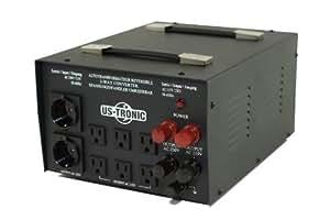Transformateur de tension - 110 v 5000W réversible par uS tronic 220 v
