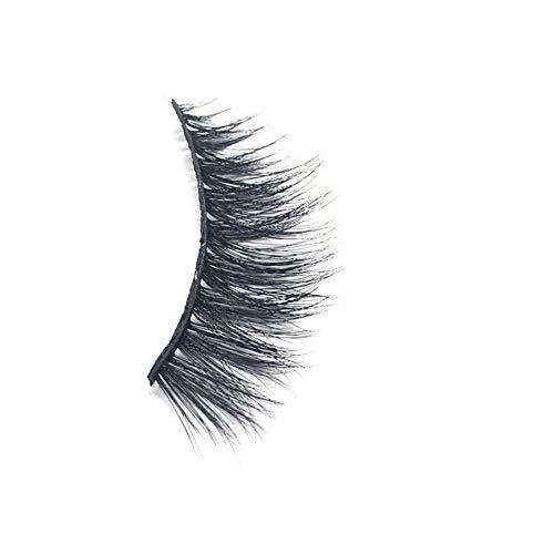 Falsche Wimpern Fluffy Strip Wimpern Lange Natürliche Party(1 Paar) Zolimx (Augenbrauen Färben Natürliche)