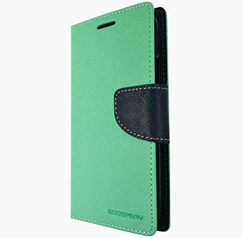 Für Nokia Lumia Book Handy Tasche Flip Cover Hülle Etui Klapptasche Lumia 950 XL Rot Blau Mint Blau