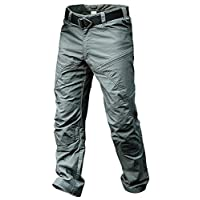 ANTARCTICA Mens Hiking Tactical Pants Lightweight Waterproof Military Army Jogger Casual Cargo Jogger Casual Trousers Without belt