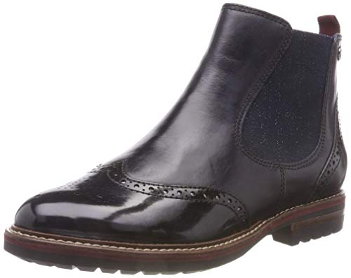 Tamaris Damen 25437-21 Chelsea Boots, Blau (Navy 805), 40 EU