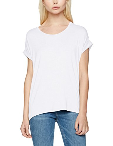 Only Onlmoster S/S o-Neck Top Noos Jrs, T-Shirt Donna Bianco (White)