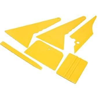 SODIAL(R) Pare-brise de voiture Film teinte grattoir Kit Outils d'application