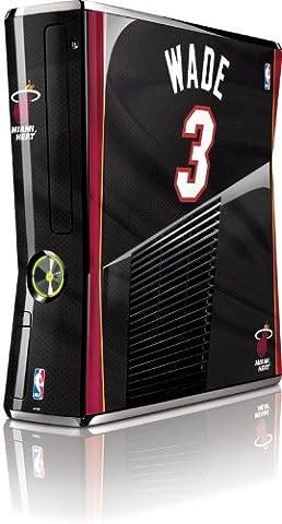 NBA - Player Jerseys - Dwyane Wade Miami Heat Jersey - Microsoft Xbox 360 Slim (2010) - Skinit Skin by Skinit