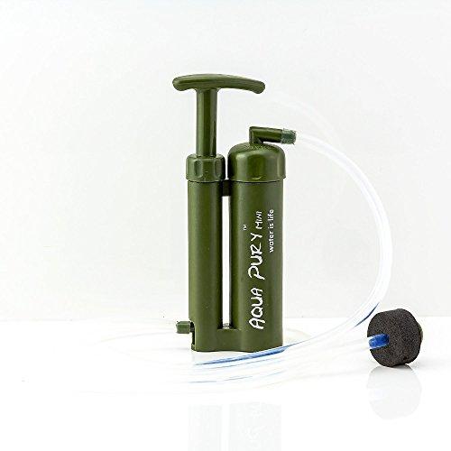 Aqua Pury Mini unser kleinster Outdoor, Survival und Camping Wasserfilter für Wasseraufbereitung,ideal zur Krisenvorsorge