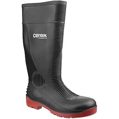Centek Mens FS338 Compactor Waterproof Safety Wellington Boots