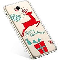 Uposao Handyhülle Sony Xperia XA2 Ultra Hülle Transparent Silikon Ultra Dünn Schutzhülle Durchsichtig Handyhülle Kristall Weiche Silikon TPU Handytasche Rückschale,Weihnachten Geschenk