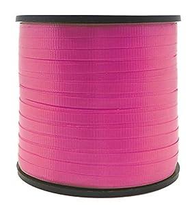Unique Party 48629-Cinta de Regalo, Color Rosa Magenta, 90 Meters (48629)