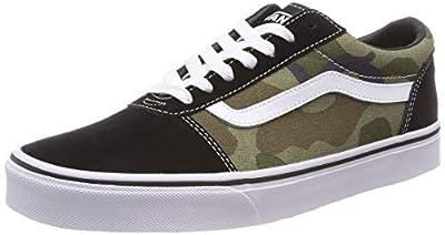 Vans Men''s Ward Canvas Low-Top Sneakers