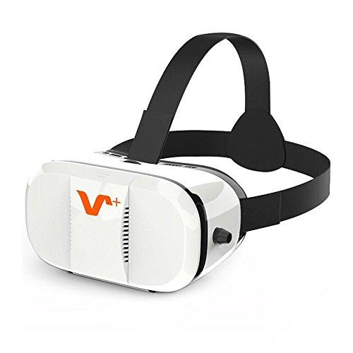 Vox vr-z3 occhiali virtuali 3d - visore realtá virtuale - compatibile con tutti gli smartphone come samsung, iphone, huawei etc. da 4.7 a 6 pollici - regalo perfetto di compleanno e di natale