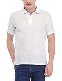 Trendy Trotters White Polo Cotton T-Shirt