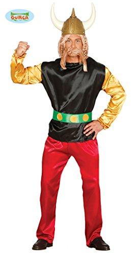 Gallischer Soldat Kostüm für Herren Gallier Kostüm Römer Comic Wikinger Gr. M, L, (Kostüm Asterix Halloween)